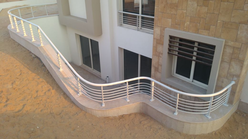 Steel Handrail at Oriana Project (8)